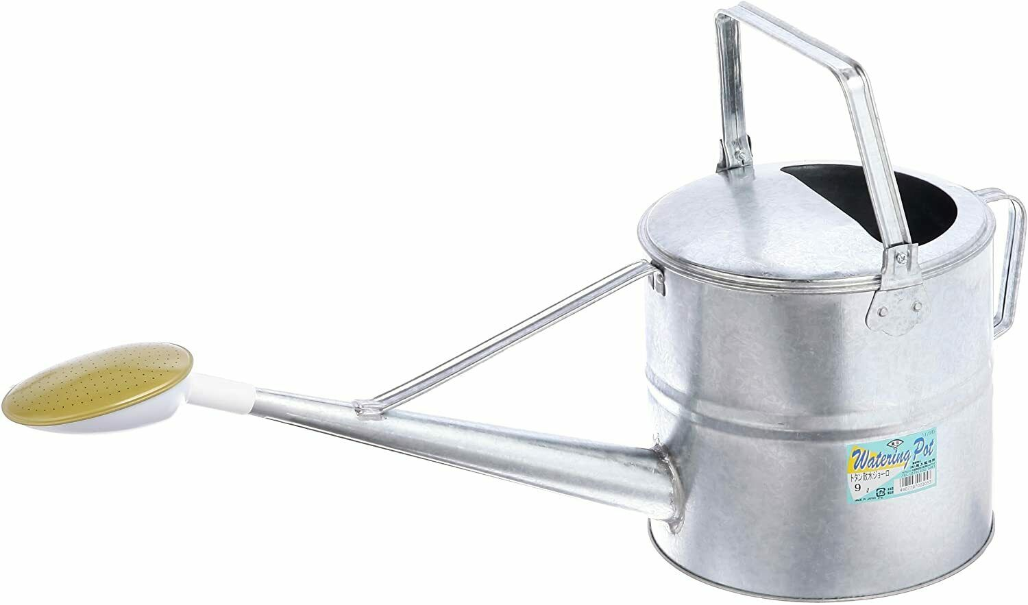 Onoe Japanese Sprinkling Watering Can Galvanized Steel 4L 6L 9L Safety3 Japan