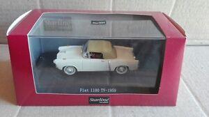 DIE-CAST-034-FIAT-1100-TV-1959-034-STARLINE-SCALA-1-43
