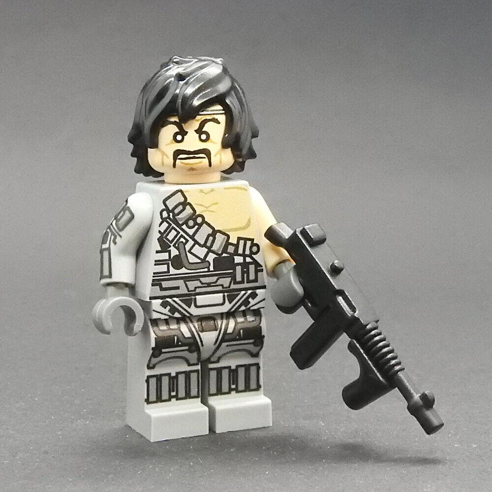 Custom Scalphunter Marvel Super heroes minifigures Marauders on lego bricks