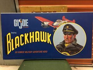 G.i.joe As Blackhawk / Set Deluxe Hasbro & Dc Direct 2002 Mib Super Rare