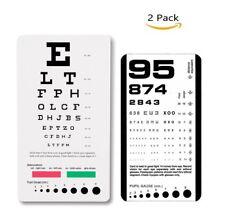 Pocket Rosenbaum Eye Exam Test Chart For Sale Online Ebay