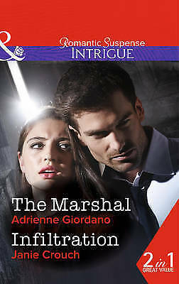 1 of 1 - Crouch, Janie, Giordano, Adrienne, The Marshal (Intrigue), Very Good Book
