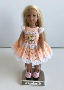 Clothes-for-Mini-American-Girl-Doll-6-034-Vinyl-Body-Dress-Dollchris-Lot-MAG-16-USA