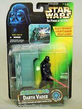 Star Wars ELECTRONIC POWER F/X DARTH VADER Lightsaber Glows! POTF_69644_MOC