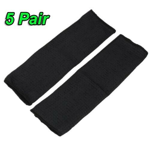 10Pair Steel Wire Tactical Cut Proof Armband Protective Sleeve Arm Guard Bracers