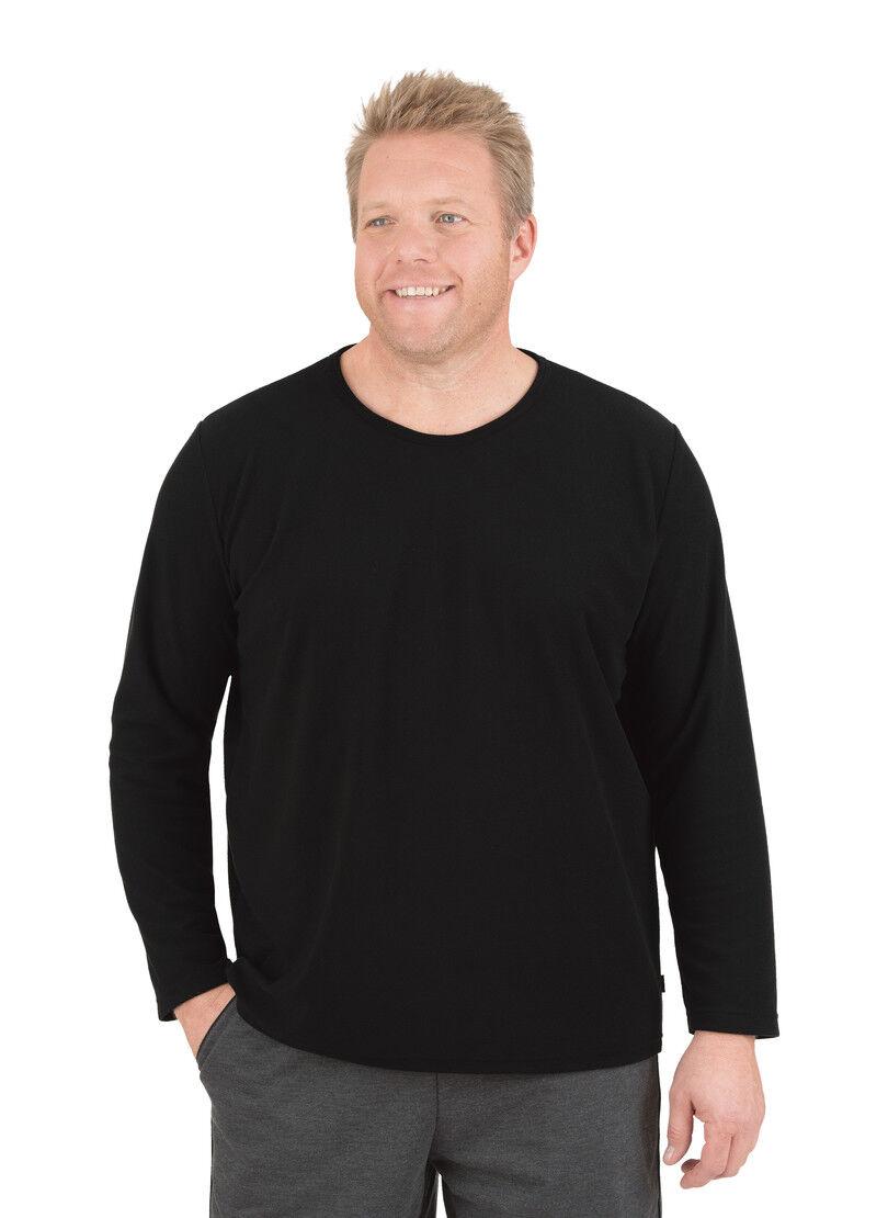 TRIGEMA Fleece–Rundhalsshirt 657003 NEU & OVP OVP OVP 6d1bfa