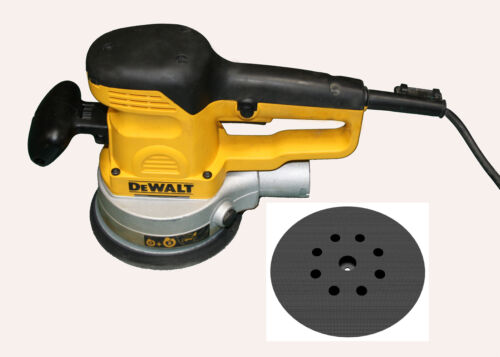 "Backing pad 6/"" Ø 150mm for DeWALT D26410-8 holes Hook and Loop Sanding Pad DFS"