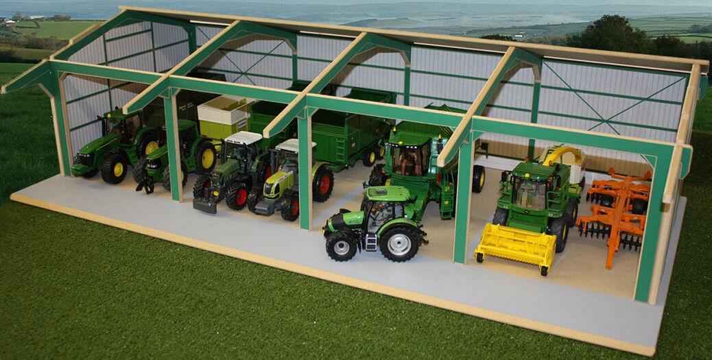 BTEUR01 - BâtiHommest de type hangar diPour des hommesions 100x50x28cm  matériels agricoles ven  profiter de vos achats