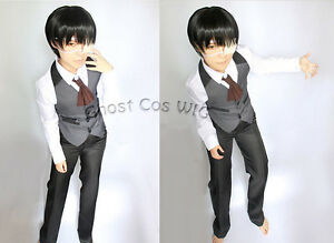 Tokyo Ghoul Ken Kaneki Coffee Shop Clothing Cosplay Costume Any Size ... 0c0083db3615