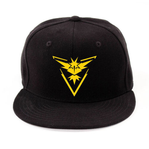 Pokemon Go Hip Hop Baseball Caps in 3 Designs One Size Fast Post