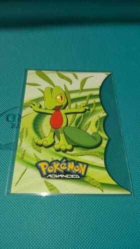 Treecko 1 of 18 Die-Cut Advanced Pokemon NM Topps Pokemon NM rare