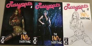 Pussycats End of Everything #1 Photo Variant NM E-Comix, 2018