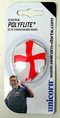 Unicorn Core 75 England St George Plus Standard Shape Dart Flights