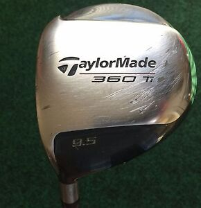 Left-handed-Taylormade-360-Ti-Golf-Driver-9-5-Bubble-R-80-Graphite-Shaft