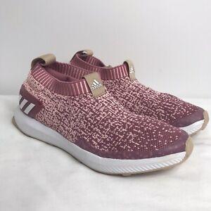 Details about Women's Adidas CloudFoam Sock Style No Laces Sneakers Shoes Size 4 1/2 *No Box*