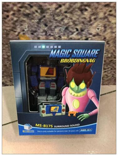 New MS-TOYS MS-B17S Robot Action Figure Surround Sound mini TWINCAST instock