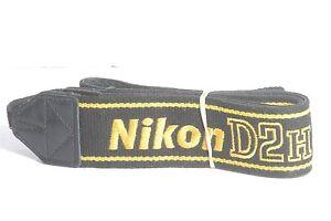Nikon-D2H-Genuine-Black-Yellow-DSLR-Camera-Neck-Strap
