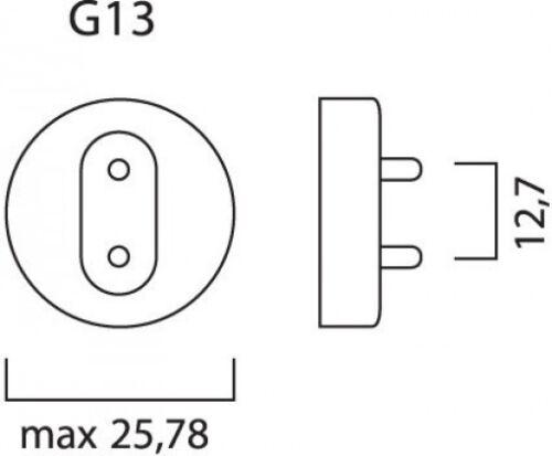 "Sylvania Grolux t8 f25w//30/""//gro"