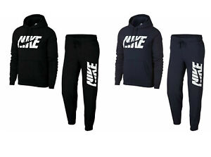 Nike-NSW-Mens-Full-Tracksuit-Fleece-Hooded-Jogging-Bottoms-Joggers-Top