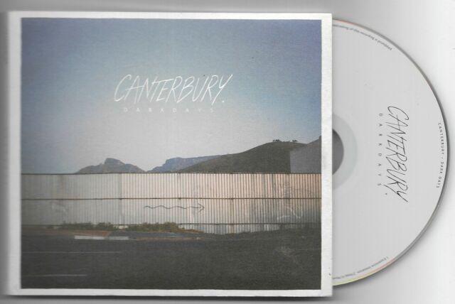CANTERBURY Dark Days 2014 Hassle Records CD Album A++++++++++++++++++CONDITION