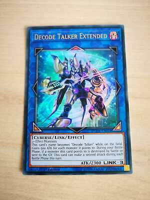 Yu-Gi-Oh! Decoder Transmitter Extended 1 ° Edition Dude it024-NM