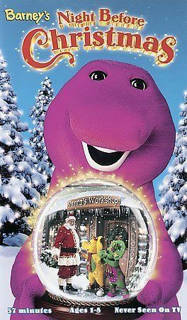 Barneys Night Before Christmas Vhs 1999 For Sale Online Ebay