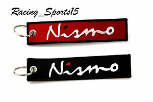 JDM NISMO SPORTS DOUBLE SIDE Racing Cell Holders Keychain Universal