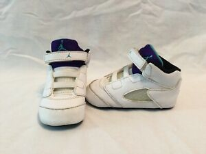 purchase cheap cfc4c 65686 Details about Nike Air Jordan 5 Retro Grape Infant Boys Purple/white/black  Crib Shoes~size 4 C