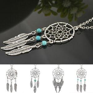 Fashion-Dream-Catcher-Pendant-Retro-Design-Chain-Necklace-Gifts