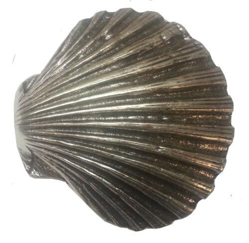 Shell aus massiven Metall Gürtelschnalle Muschel