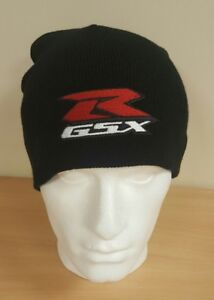 Image is loading GSXR-Embroidered-Beanie-Hat