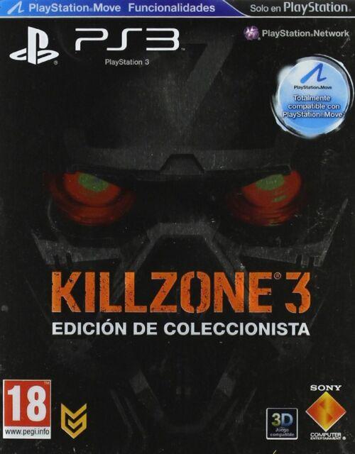 Ps3 Killzone 3 Edición Coleccionista Nuevo Precintado Pal España