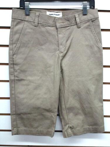 Boys Nautica Khaki Uniform Shorts Size 12-14