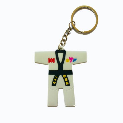 Schlüsselanhänger Kampfsport Taekwondo Keychain 5 verschidene Modelle ca.7 x 4cm