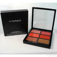 Mac Pro Lip Palette 6 Editorial Oranges Lipstick Boxed