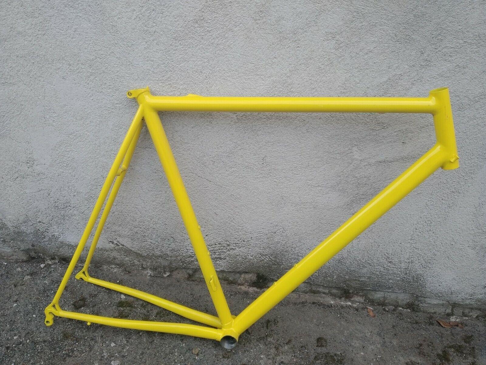 Vintage telaio frame frame frame corsa strada italian NOS 56 x 56 28 NOS steel acciaio 0c5