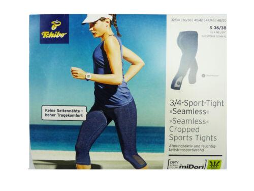 TCM Tchibo Damen Sport Seamless Tight Laufhose Fitnesshose Sporthose Hose M
