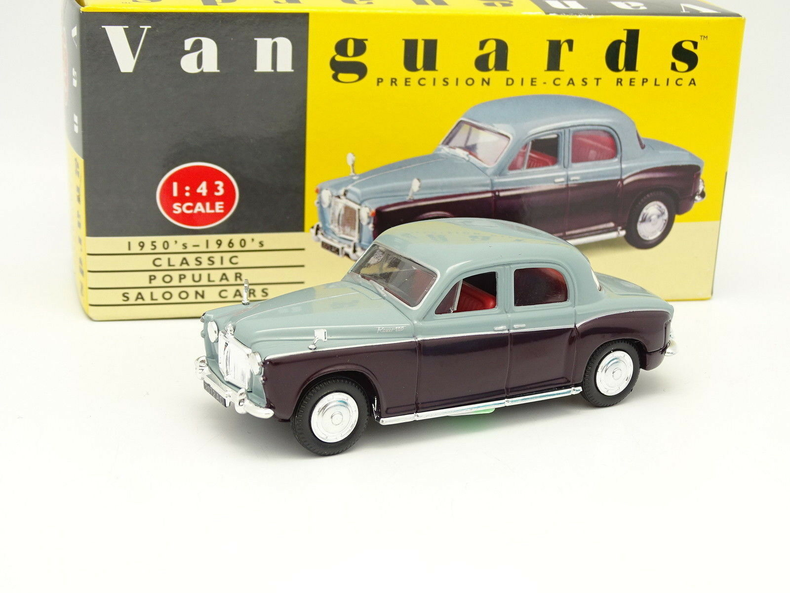 VANGUARDS 1 43 - Rover P4 Red and Grey