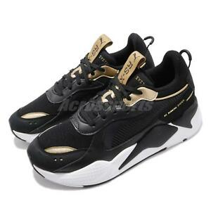 Puma RS-X Trophy Black Gold White Men Running System Shoes Sneakers ... fcd27c84c