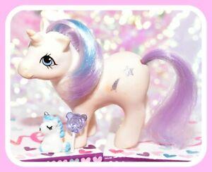 ❤️My Little Pony MLP G1 Vtg 1984 BABY Glory Play 'n Care Shooting Star❤️