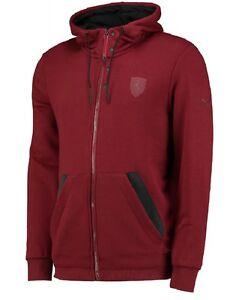 Ferrari Hooded Sweat Jacket Exquisite Verarbeitung In