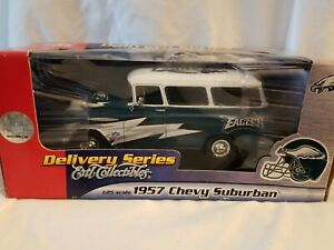 ERTL-Philadelphia-Eagles-1957-Chevy-Suburban-Collectibles-Diecast-1-25-Scale