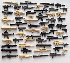 Brickarms PISTOLE 60 PEZZI STAR WARS HALO WW2 + LEGO Brick PRTY Borsa Favore