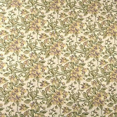 Brilliant Gold /& Yellow Paisley Print by Free Spirit Cotton Fabric Per 1//2 Yd