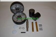 Crown PTH50 Pallet Jack Complete Wheel Kit (Includes All Parts Shown)