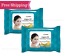 thumbnail 1 - epielle® Argan Oil Makeup Remover Cleansing Tissue Face Wipes, 30 Ct (Pack of 2)