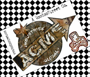Details about ACME STICKER RAT PATINA BY VOODOO STREET™ GLOBAL INDUSTRIES   LTD EDITION !