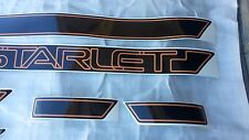 TOYOTA Starlet KP61 KP62 KP60 Side Stripes Stickers Label