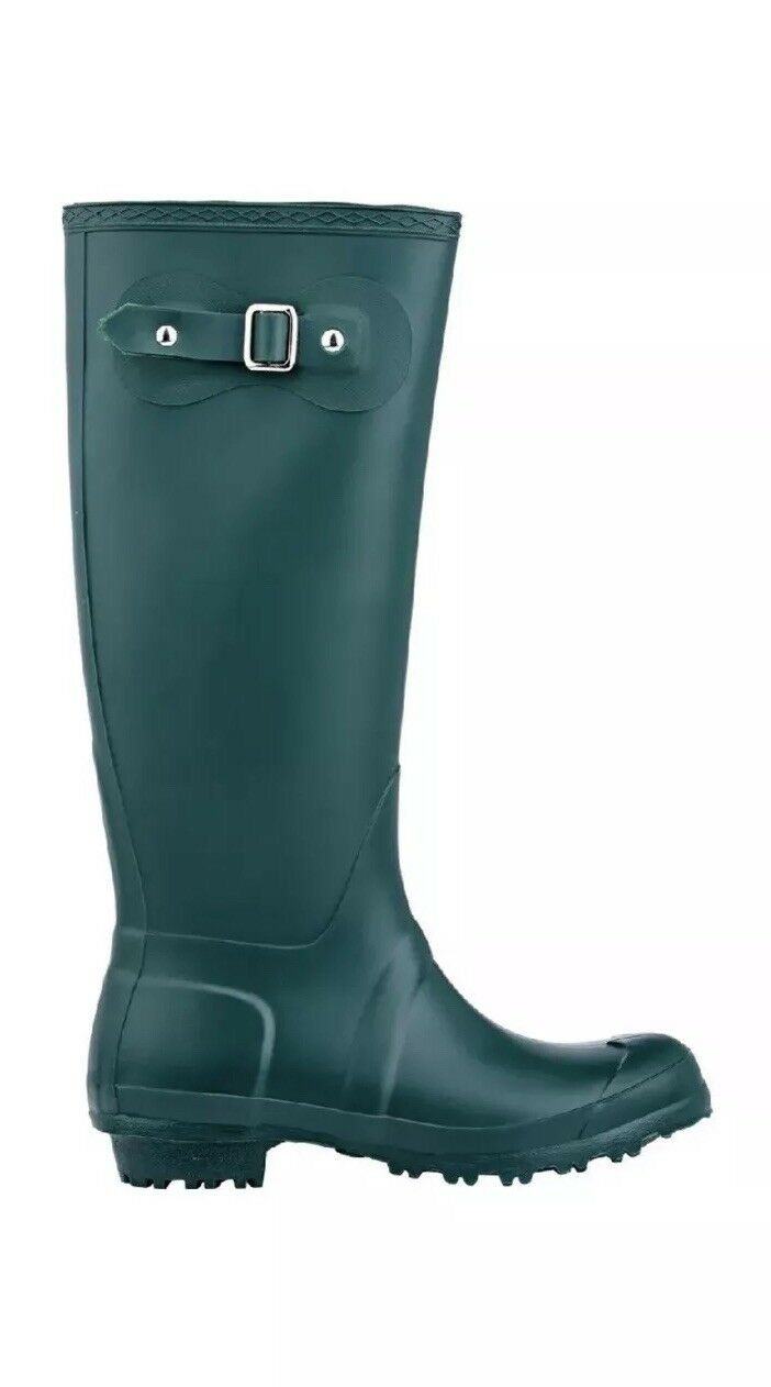 Bob Rain Boots, Barneys New York, Size 38 8, Green, NEW with Box
