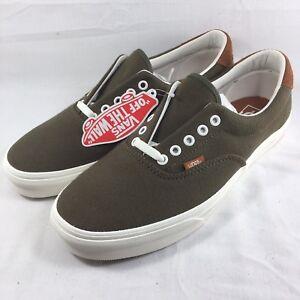 a55e40bb11 VANS ERA 59 FLANNEL Dusty Olive Shoes Men 10.5 - 13 Green Low Skate ...